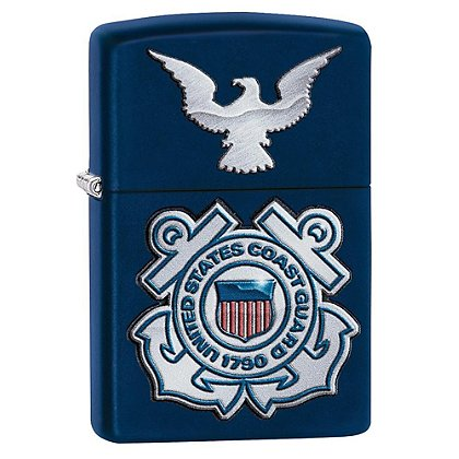 Zippo Coast Guard, Matte Navy Lighter
