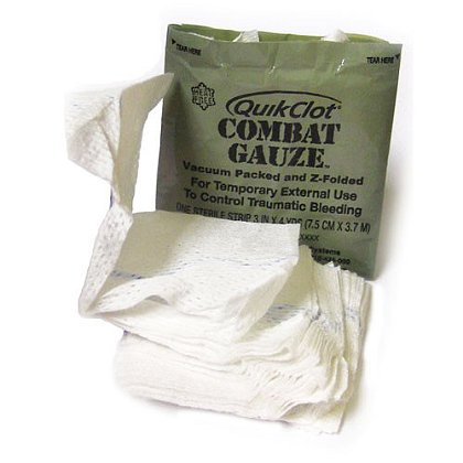 Z-Medica Z Fold QuikClot Combat Gauze