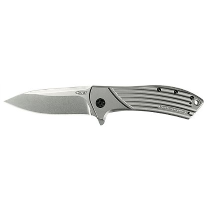 Zero Tolerance 0801 Flipper, Manual Open, Titanium Handle