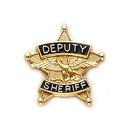 Smith & Warren Tie Tac, Deputy Sheriff, 5 Pt Star