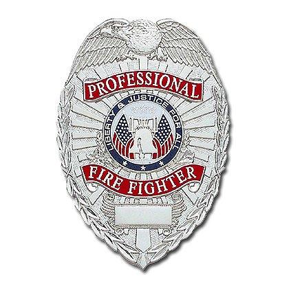 Smith & Warren Stock Badge, Professional Firefighter