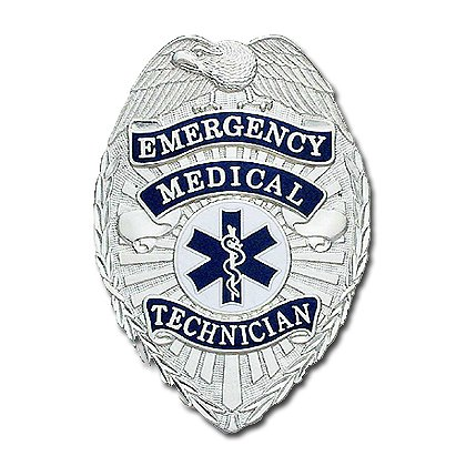 Smith & Warren Stock Badge, Emergency Medical Technician