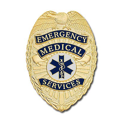 Smith & Warren Emergency Medical Services Badge