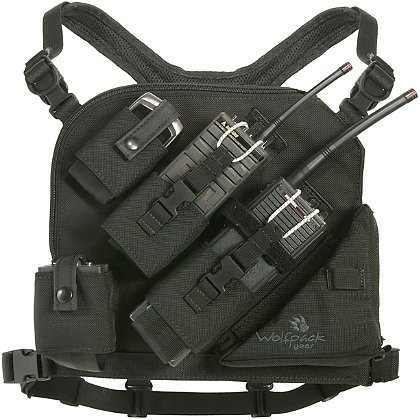 Wolfpack Gear Carbon Series Phantom Radio Chest Harness