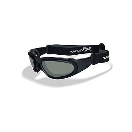 Wiley X SG-1 Tactical Goggle w/Switchable Smoke Green and Clear Lenses
