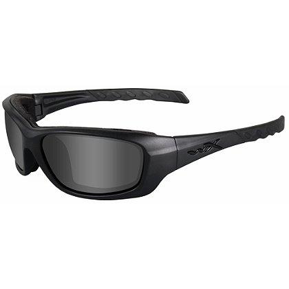 1fdca9a693e8 Wiley X Gravity Black Ops Sunglasses, Smoke Grey Lens, Matte Black ...