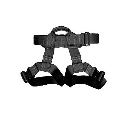 Yates Gear Tactical Class II Rappel Harness, Black