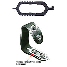 Zak Tool Concealable Belt Keeper Handcuff Key Removable