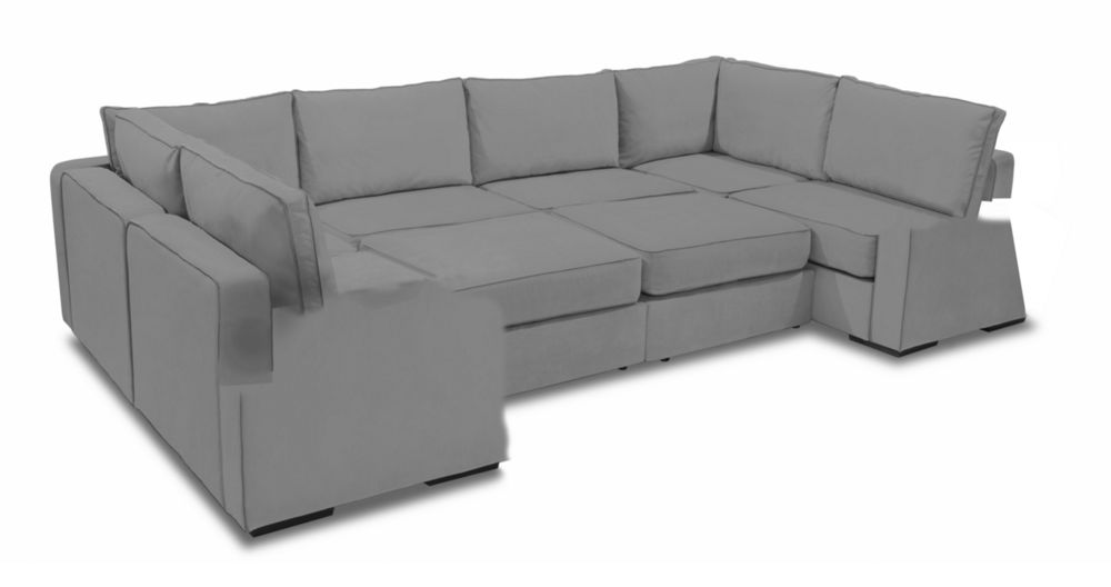 Pit Sectional Couches beautiful pit sectional couches moon with taupe padded velvet