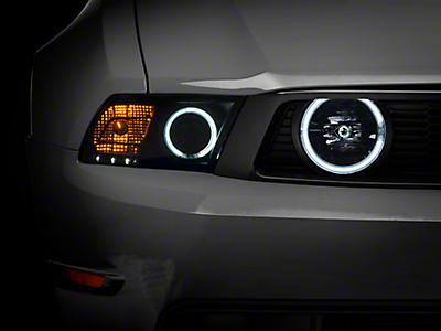 Mustang Black / Smoked Headlights