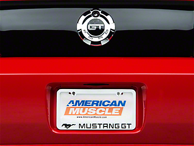 Mustang License Plates & Plate Frames 2005-2009