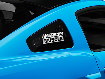 Quarter Window Covers & Decals<br />('05-'09 Mustang)