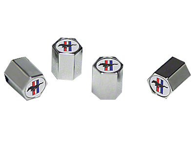 Mustang Valve Stem Caps 2005-2009