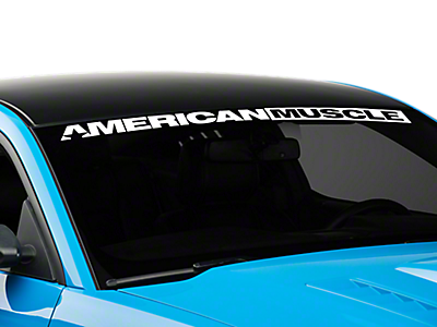 Window Banners & Decals<br />('10-'14 Mustang)