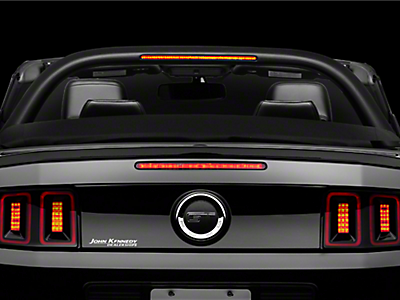 Mustang Light Bars & Wind Deflectors 2010-2014
