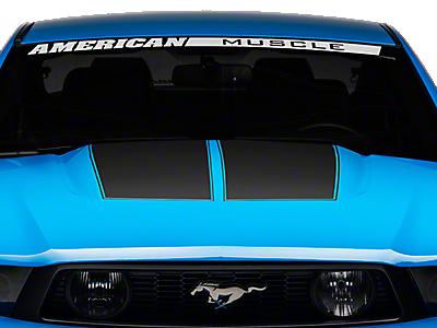 Hood Decals & Hood Scoop Decals<br />('10-'14 Mustang)