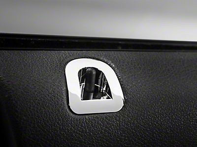 Mustang Interior Trim - Billet