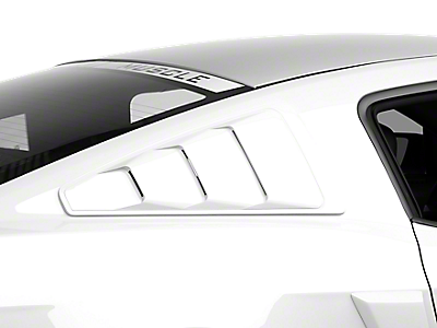 Louvers - Quarter Window<br />('10-'14 Mustang)