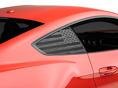 Quarter Window Covers & Decals<br />('15-'17 Mustang)