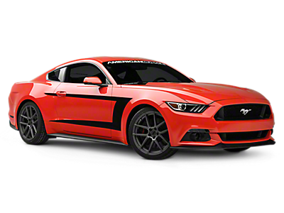 Mustang Rocker Panel & Side Stripes