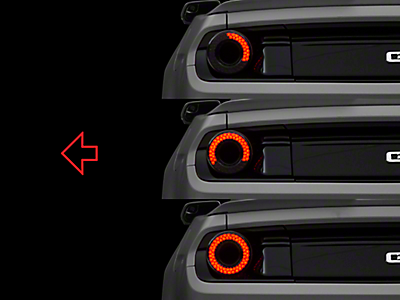 Sequential Tail Lights & Turn Signals 2015-2019