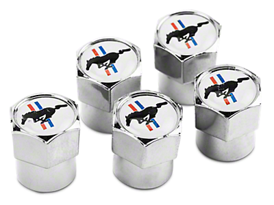 Mustang Valve Stem Caps 2015-2019