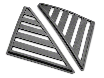 Mustang Louvers - Quarter Window 1979-1993