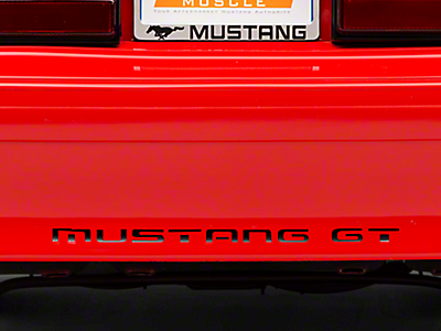 Mustang Bumper Inserts 1979-1993