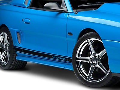Rocker Panel & Side Stripes<br />('99-'04 Mustang)
