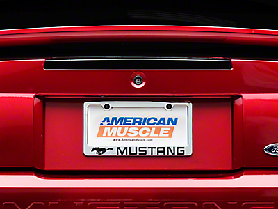 Mustang License Plates & Plate Frames 1999-2004