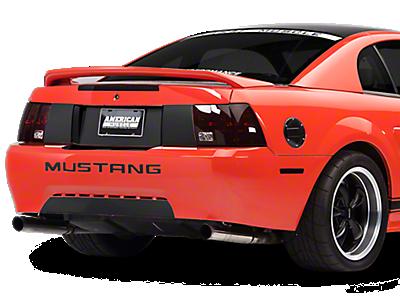 Mustang Decklid & Rear Bumper Decals 1999-2004