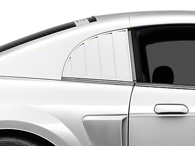 Louvers - Quarter Window<br />('99-'04 Mustang)