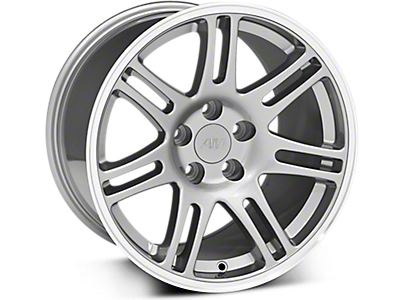 Anthracite 10th Anniversary Style Wheels<br />('99-'04 Mustang)