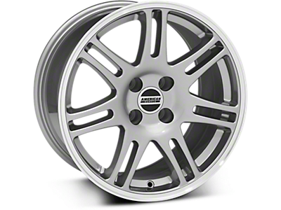 Anthracite 10th Anniversary Style Wheels<br />('79-'93 Mustang)