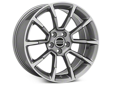 Anthracite GT/CS Style Wheels<br />('99-'04 Mustang)