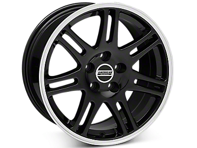 Black 10th Anniversary Style Wheels<br />('94-'98 Mustang)