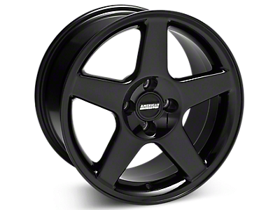 Black 2003 Cobra Wheel<br />('79-'93 Mustang)