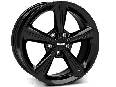 Black 2010 OE Style Wheels<br />('05-'09 Mustang)