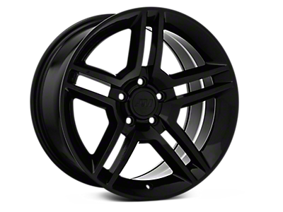 Black 2010 GT500 Style Wheels<br />('94-'98 Mustang)
