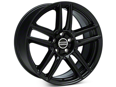 Black Boss Laguna Seca Style Wheels<br />('05-'09 Mustang)