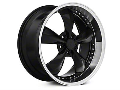 Black Bullitt Motorsport Wheels<br />('05-'09 Mustang)