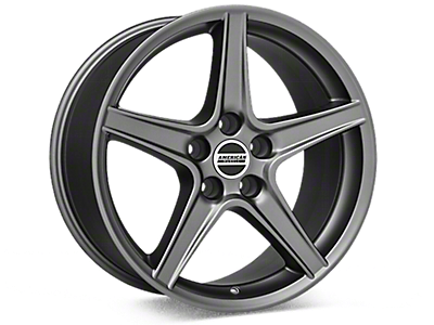 Black Chrome Mustang Wheels
