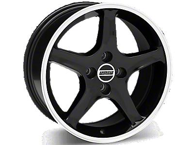Black 1995 Cobra R Wheels<br />('79-'93 Mustang)