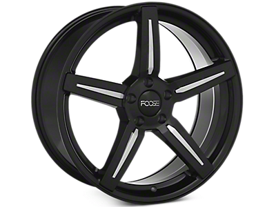 Black Foose Enforcer Wheels<br />('10-'14 Mustang)