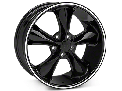 Black Foose Legend Wheels<br />('15-'18 Mustang)