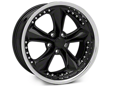 Black Foose Nitrous Wheels<br />('05-'09 Mustang)