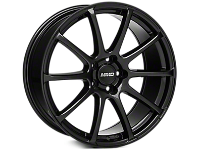 Black MMD Axim Wheels<br />('10-'14 Mustang)