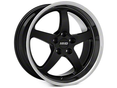 Black MMD Kage Wheels<br />('05-'09 Mustang)