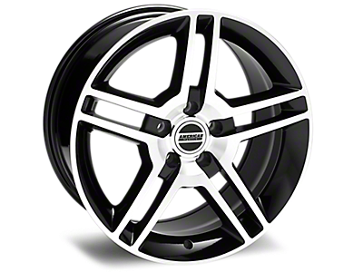 Black Machined 2010 GT500 Wheels<br />('05-'09 Mustang)