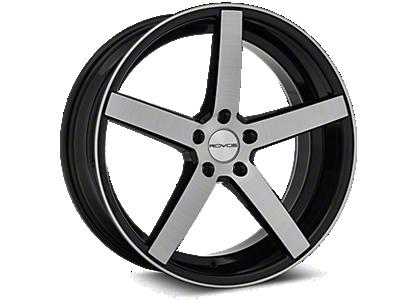 Black Rovos Durban Wheels<br />('15-'19 Mustang)